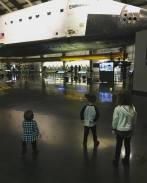 The endeavor at California Science Center